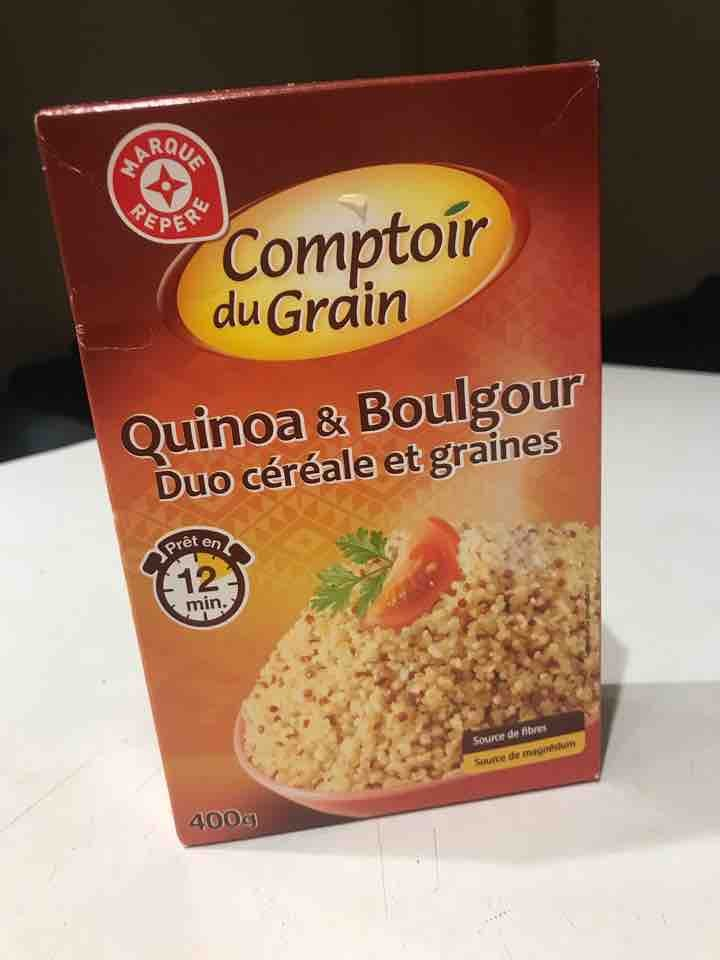 Quinoa and boulgour