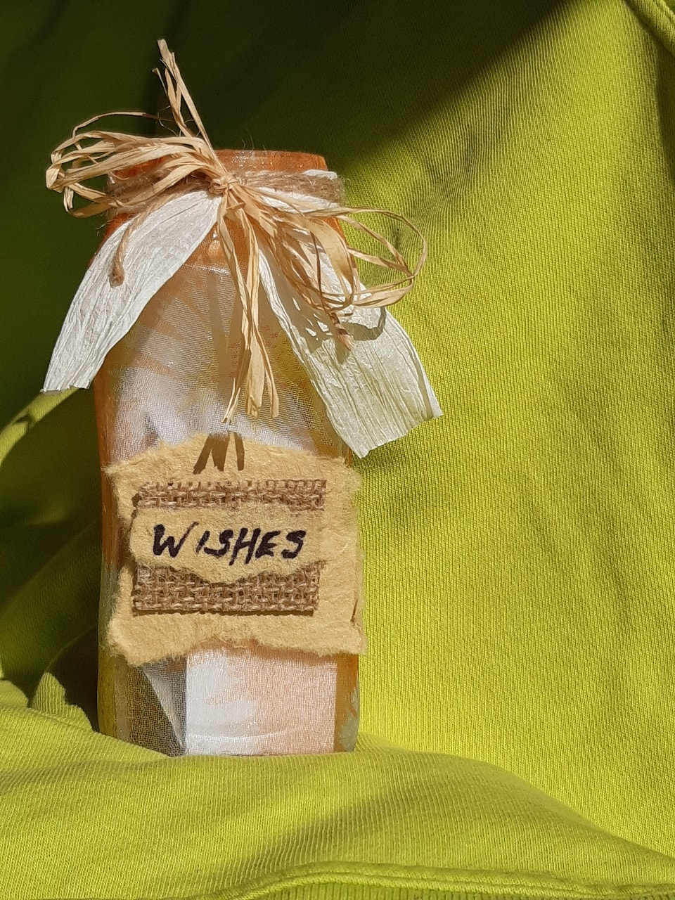 Handmade wishes jars
