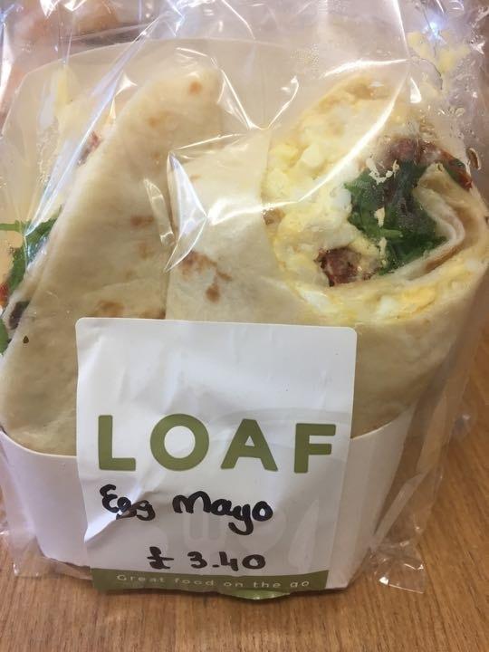 Egg mayo wrap