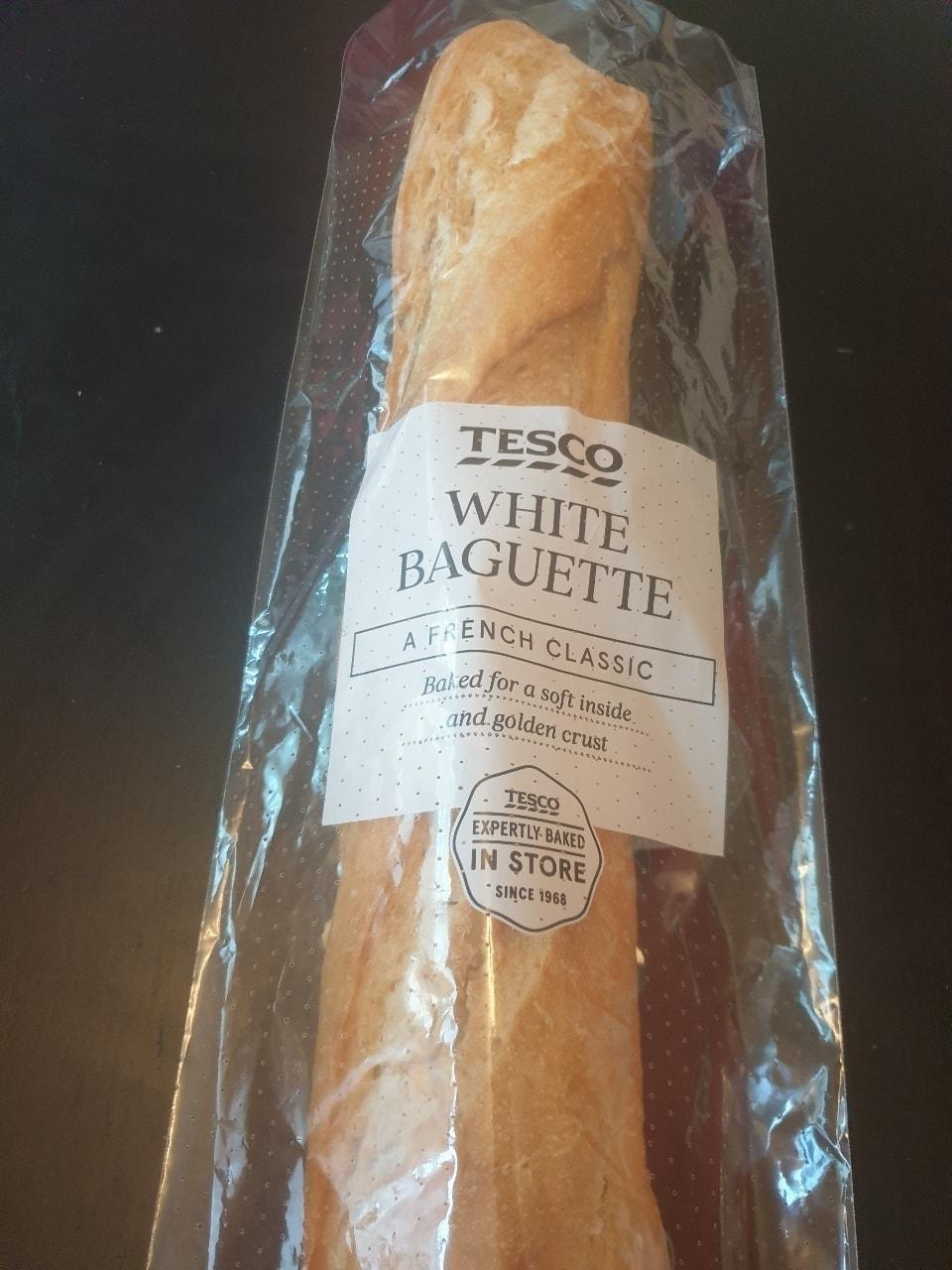 1 x White Baguette