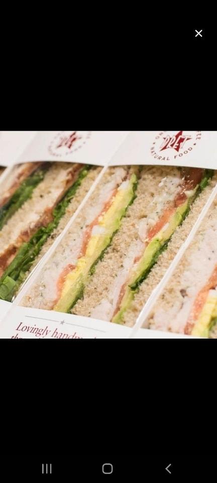 Pret a manager MEAT sandwichs