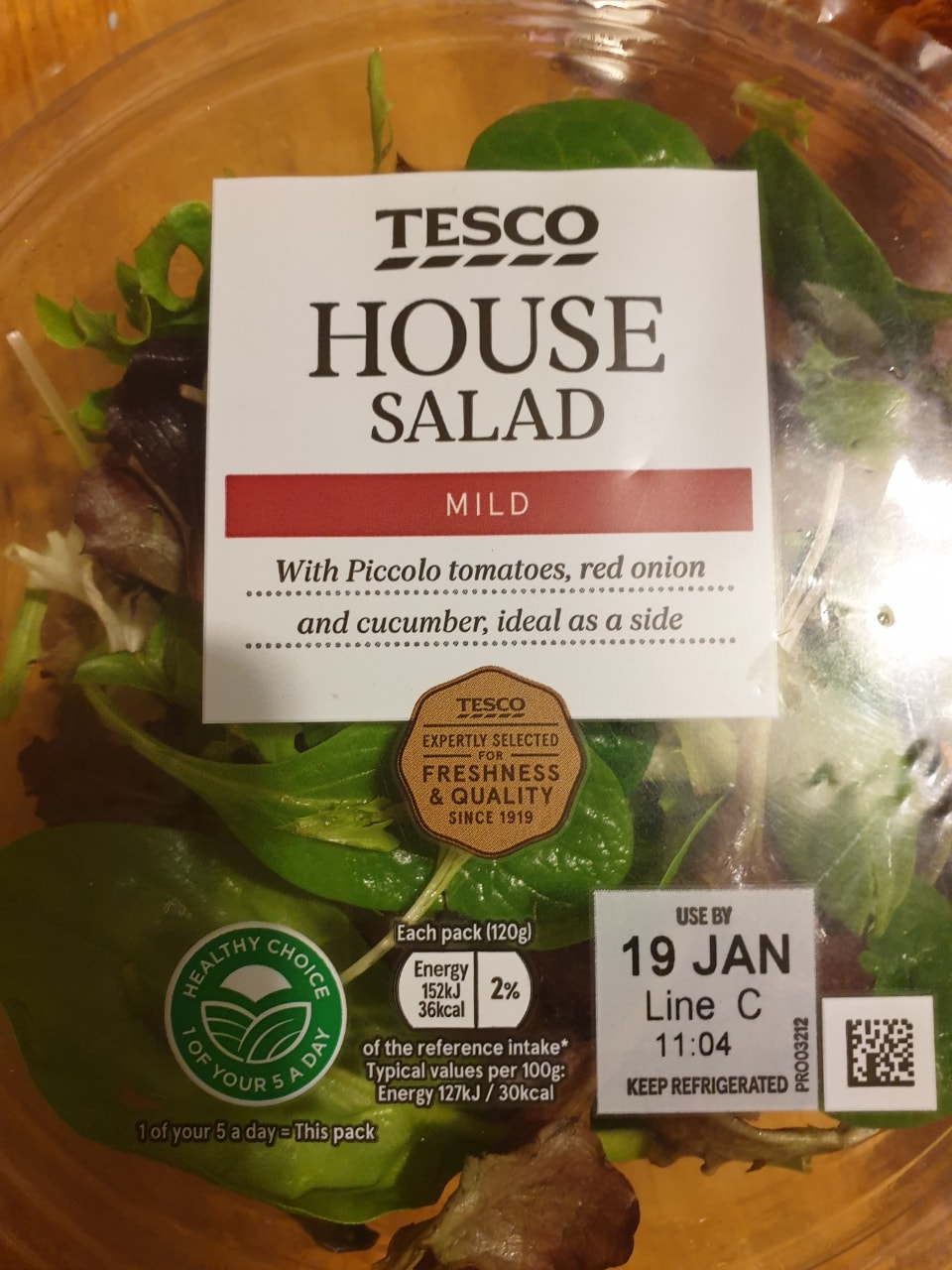 Tesco house salad
