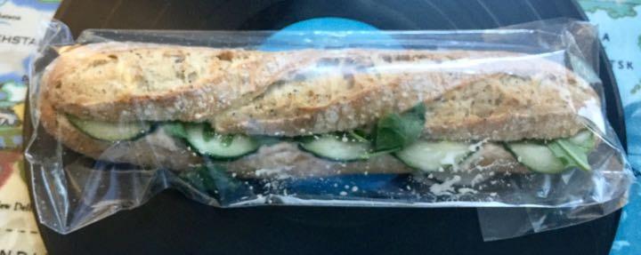 Benugo tuna mayo baguette