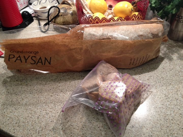 Grand mange paysan bread from waitrose