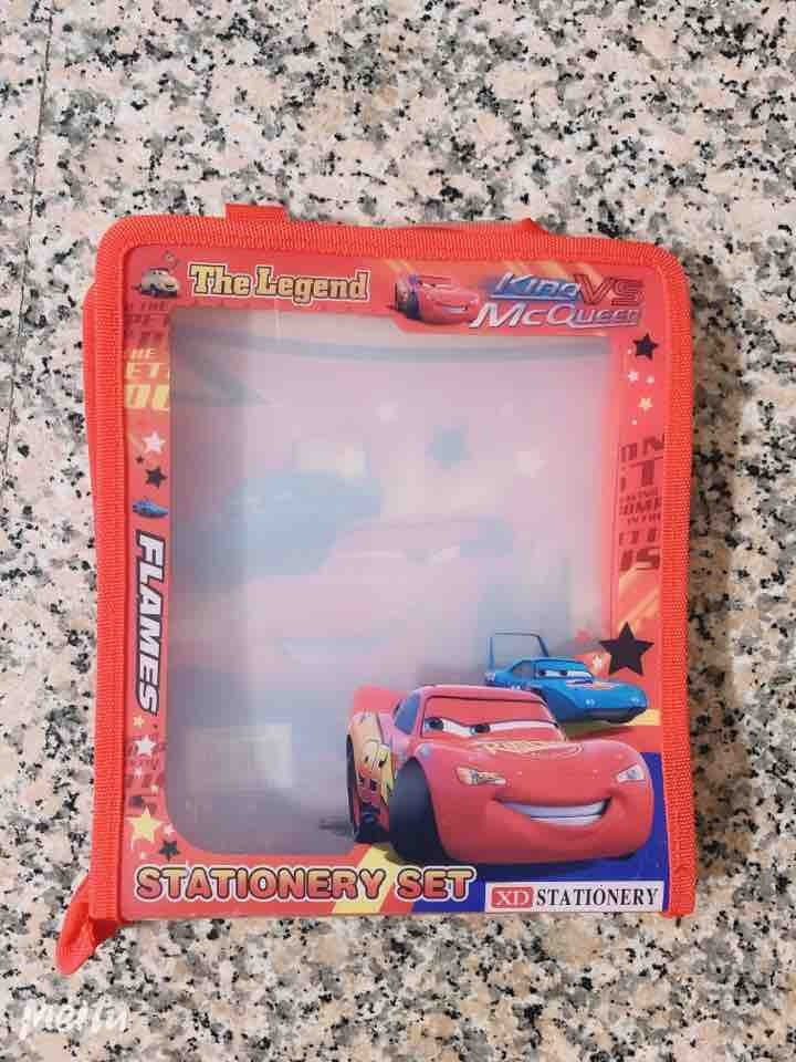 Cars McQueen stationery case
