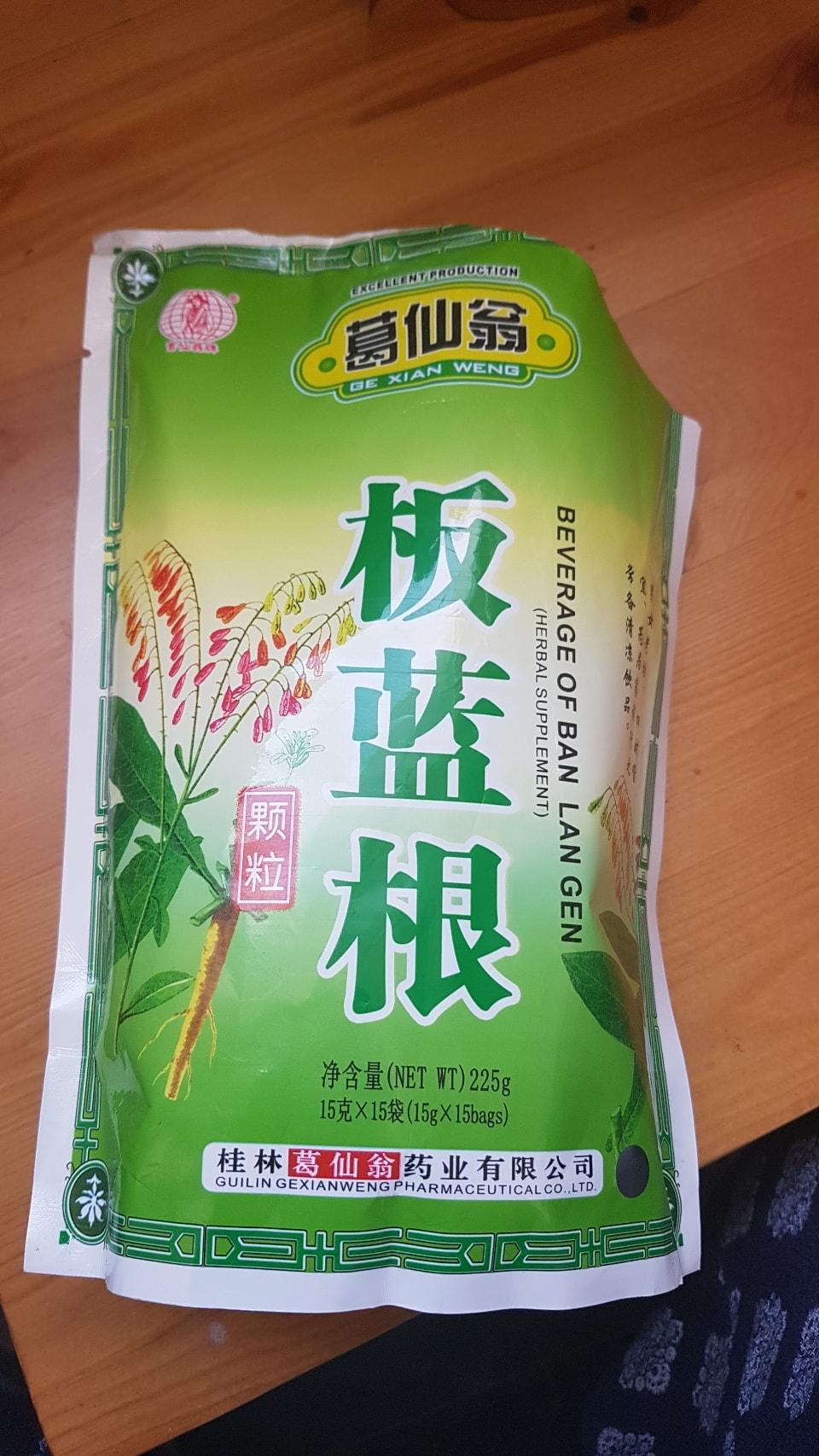 Herbal Tea Granules sachets