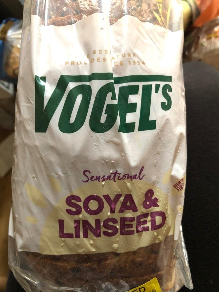 Soya linseed bread