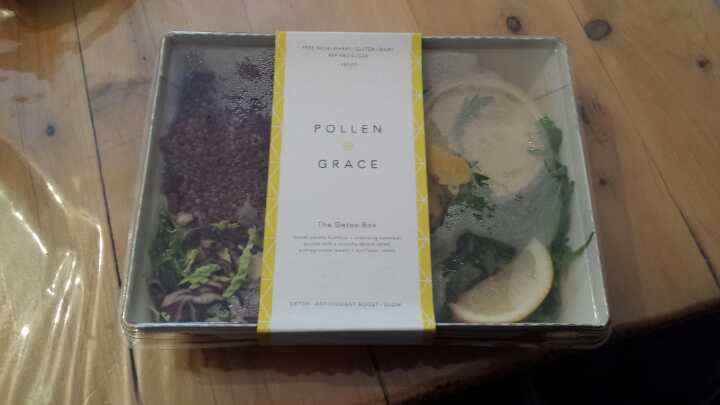 Sourced Food Market VEGAN Pollen & Grace 'The Detox Box' salad x 2