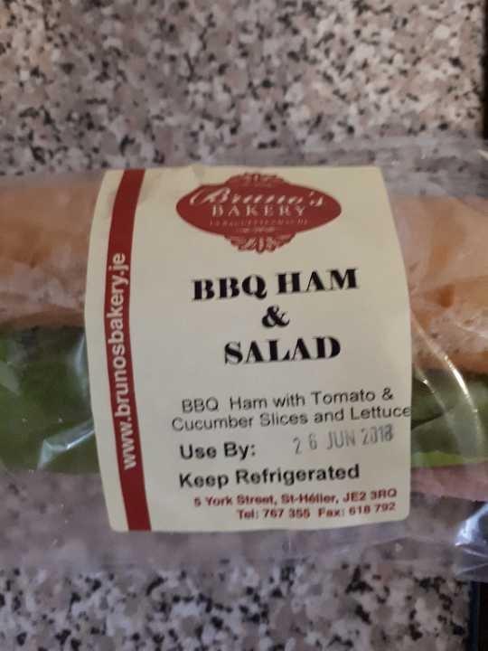 BBC ham salad