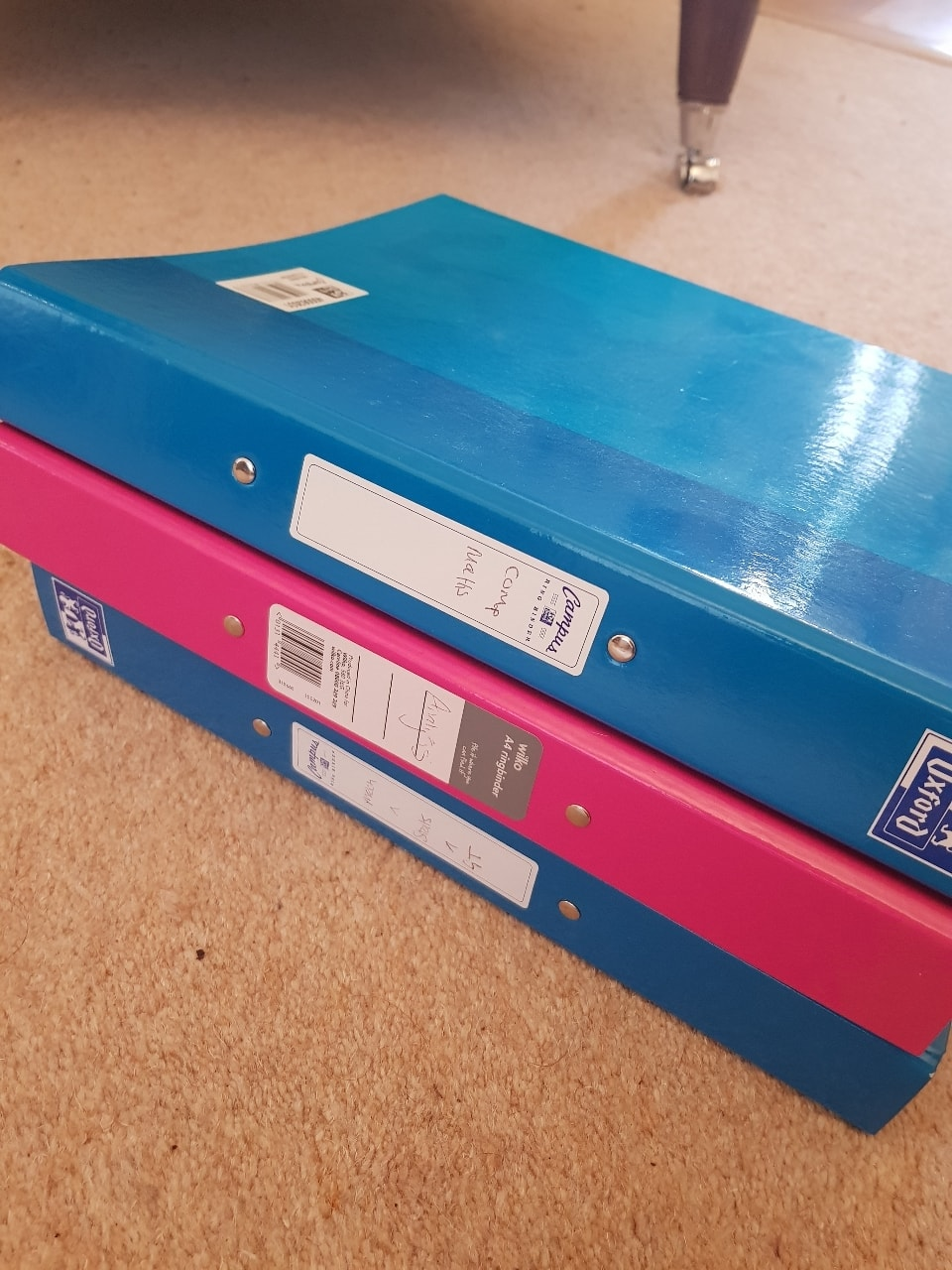 5 ring binder A4 folders