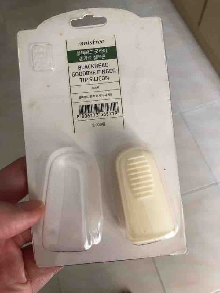 Innisfree blackhead goodbye finger tip silicon