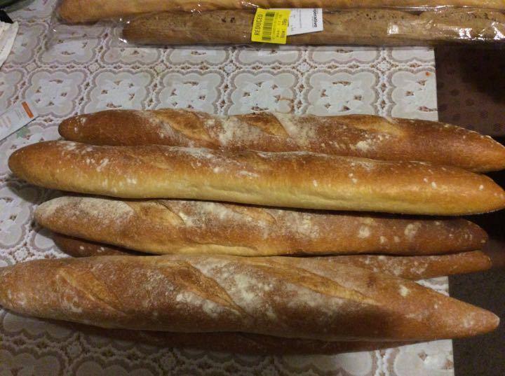 Crusty loaves