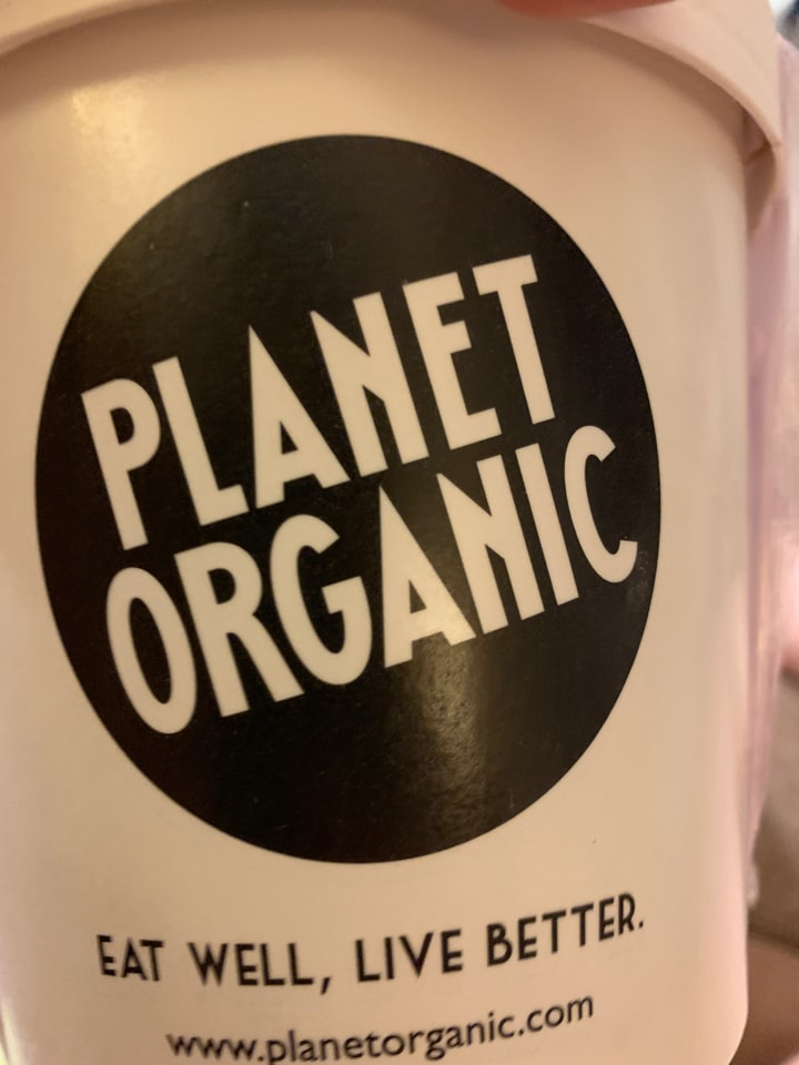 Containers of hot and cold food from Planet Organic