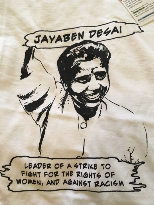 Jayaben Desai t-shirt