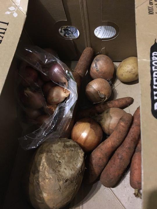 Surplus veg