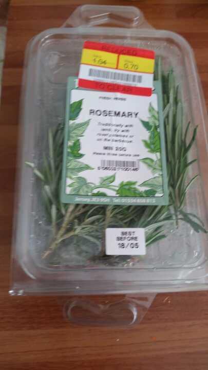 3 packs of rosemary