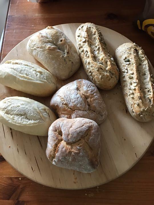 Breads x 7