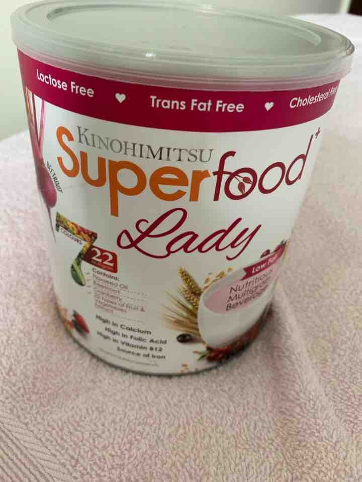 Kinohimitsu Super Food Lady, Expiry: 06/2020