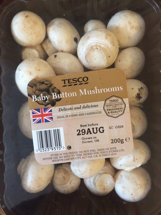 Button mushrooms