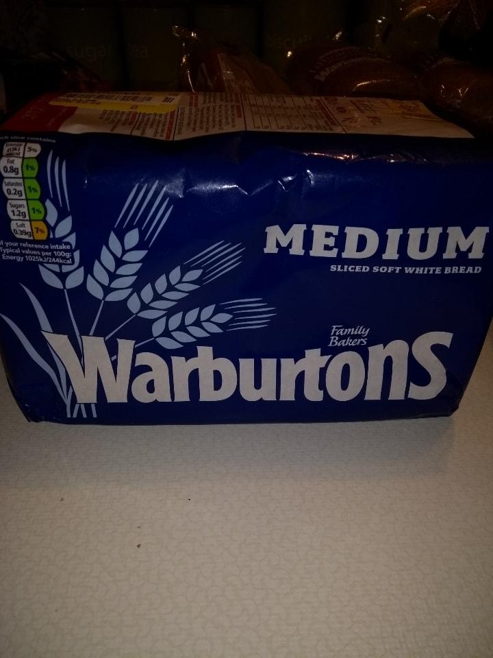 Warburton med white bread