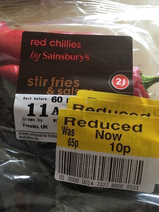 Red chilliest 60g
