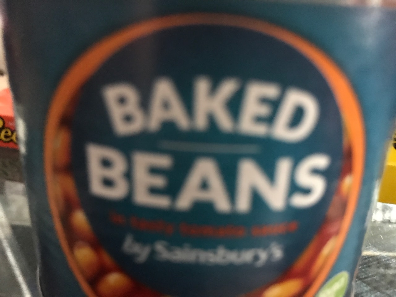 Baked beans( unopened) - collected from student halls