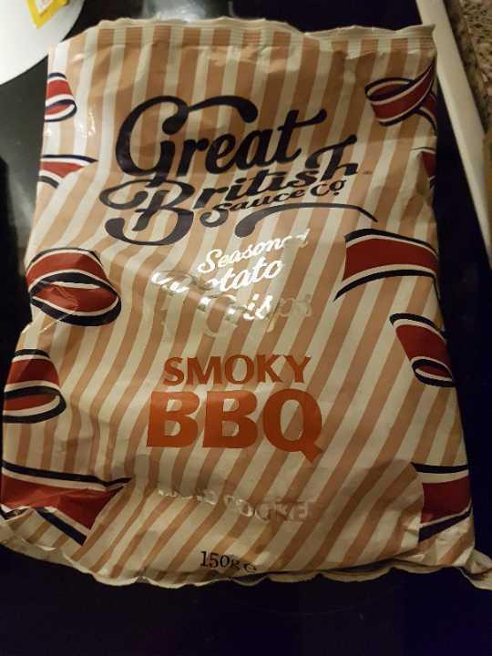 Smoky bbq crisps