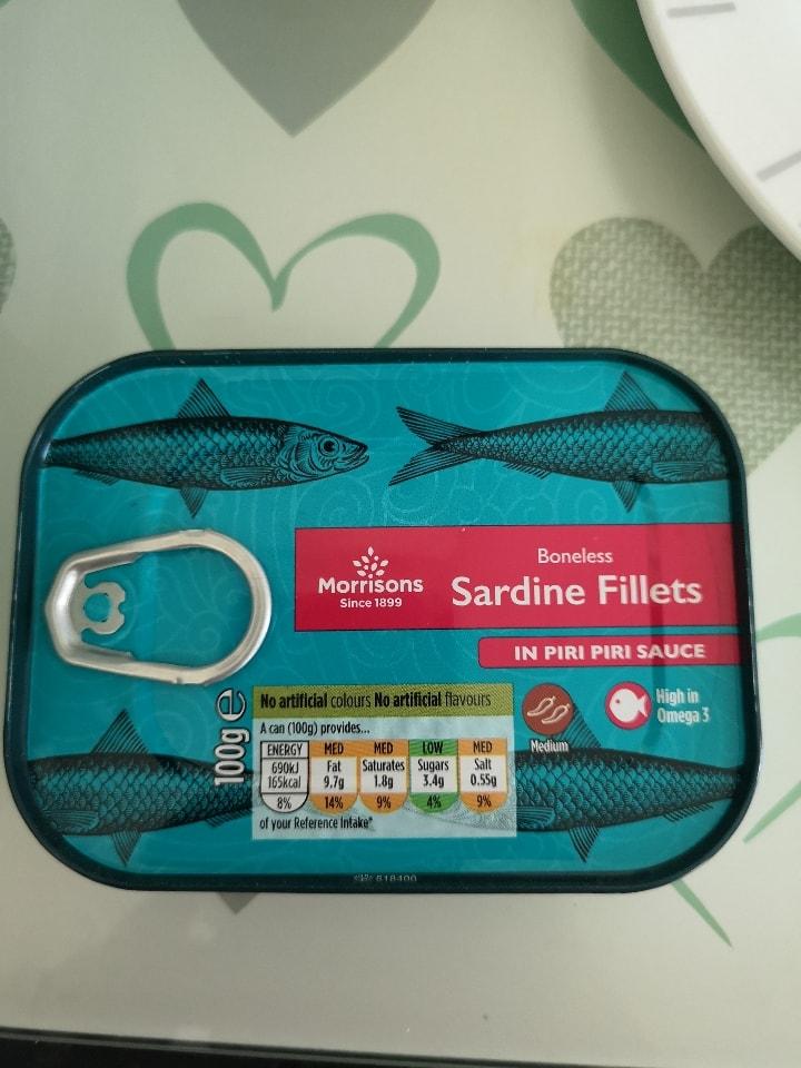 Sardines in piri piri sauces