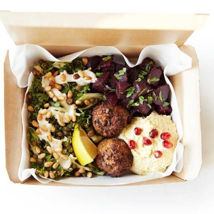 Rainbow Mezze Salad (Vegan, Gluten & Wheat Free, Nuts)
