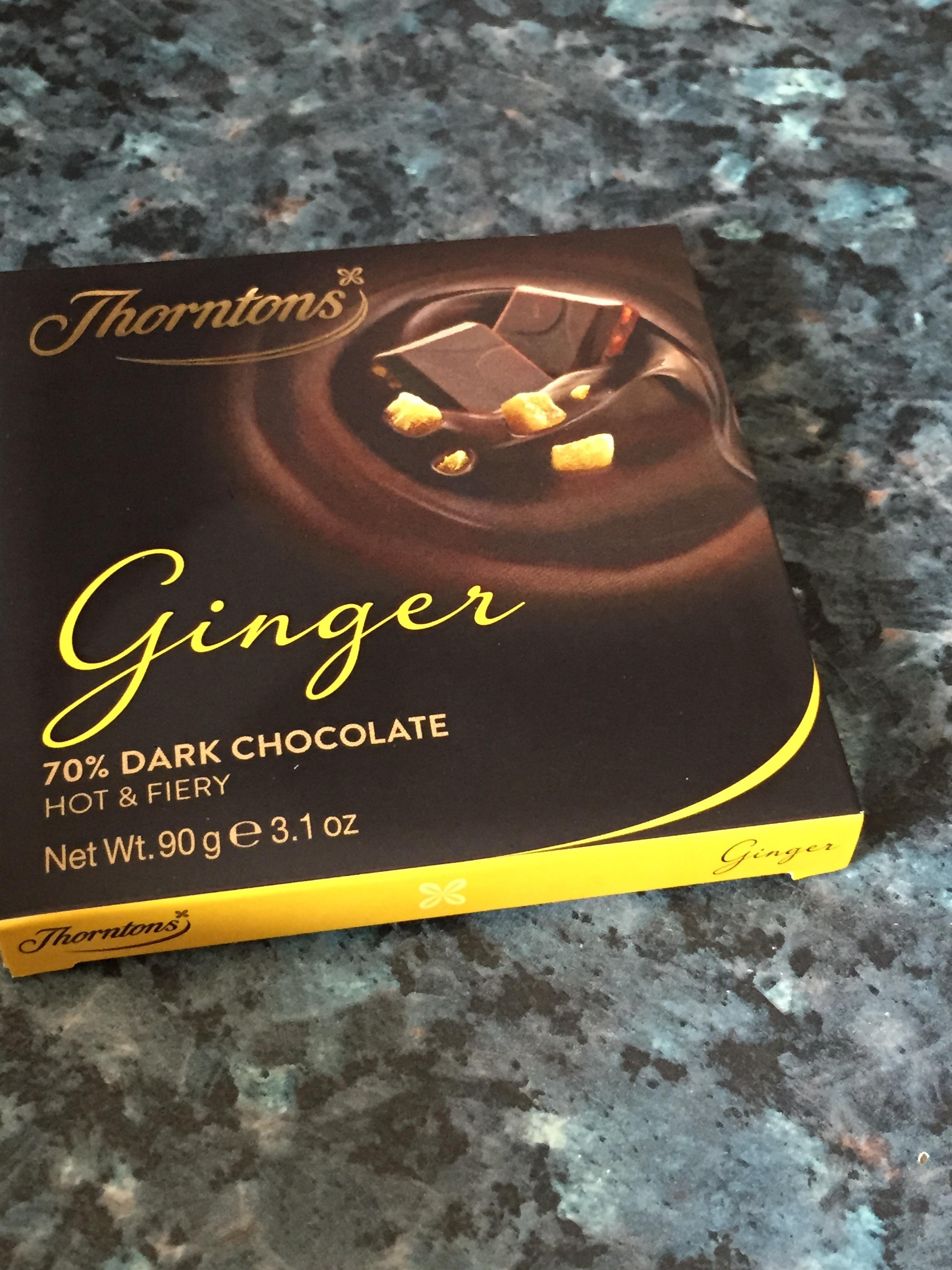 dark ginger chocolate