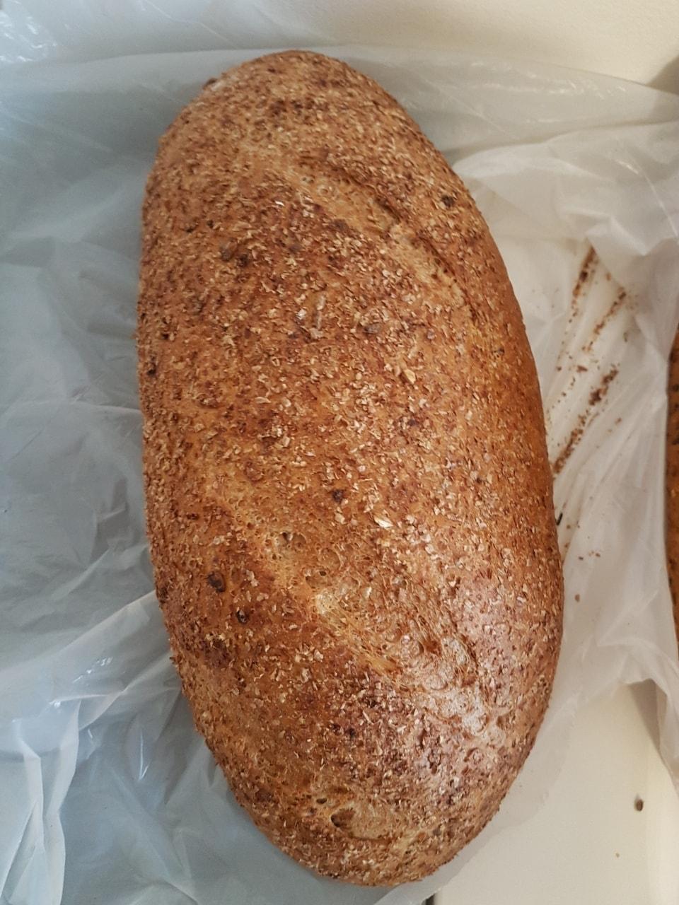 Fresh bread loaf