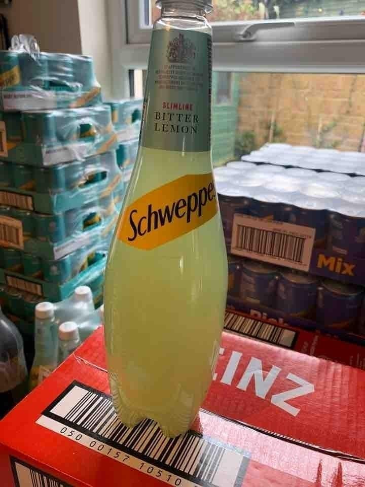 Slimline bitter lemon 1ltr