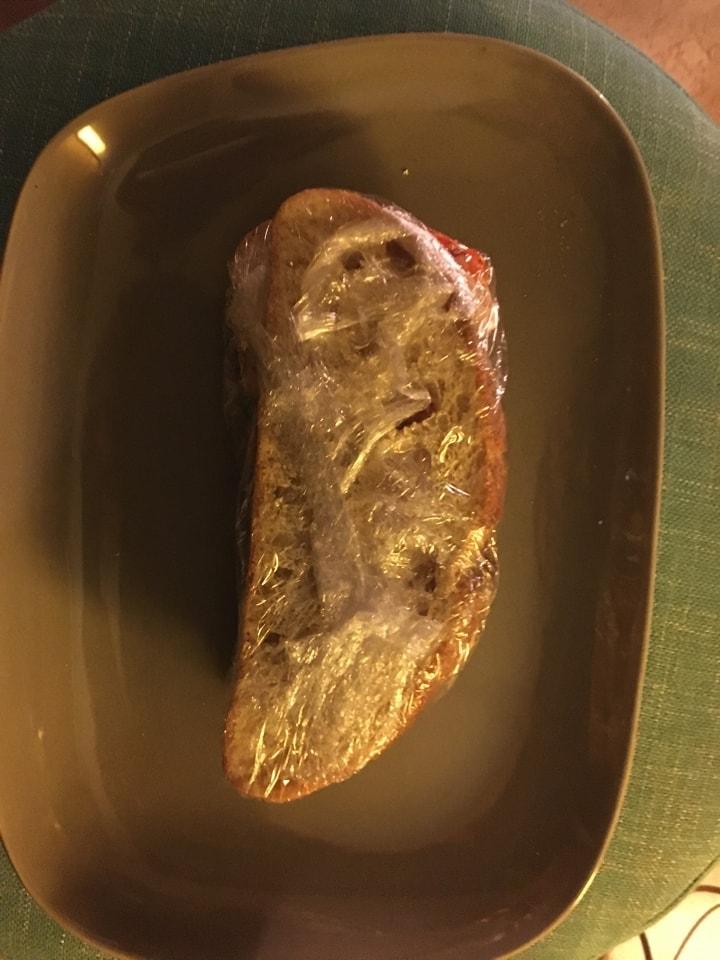 Vegan sandwich 27/05 from CAFE NERO
