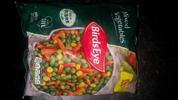 Frozen mixed veg
