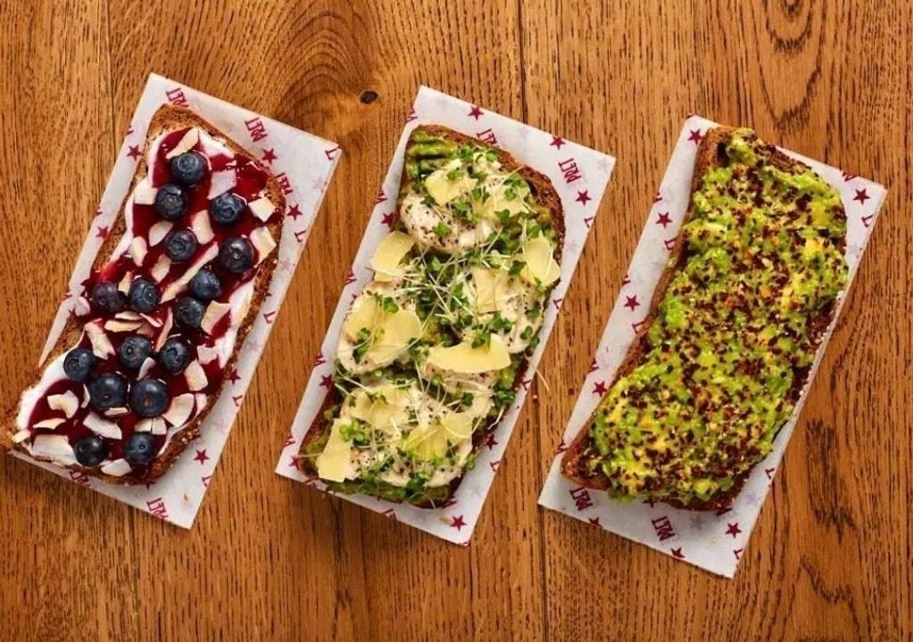 Pret gluten-free slices