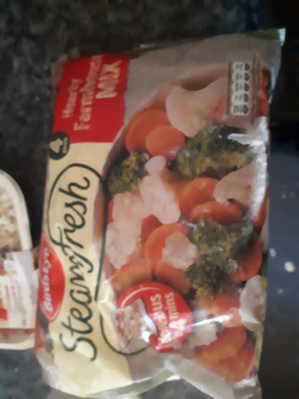 Microwave vegtables