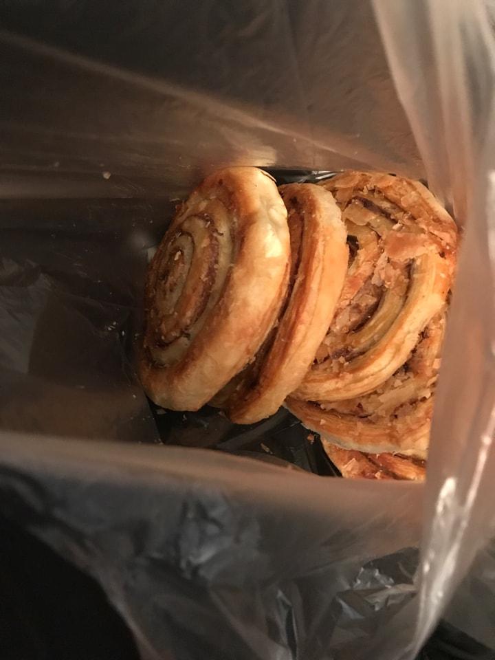 Cinnamon swirls x5 Tesco
