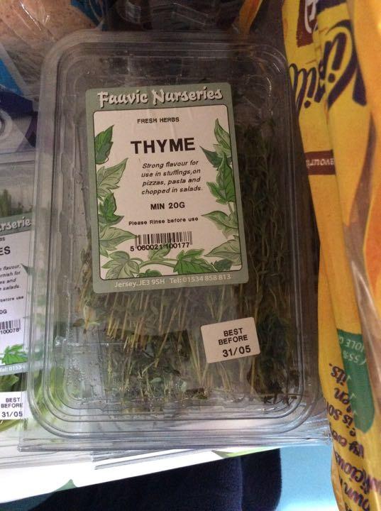Thyme x4